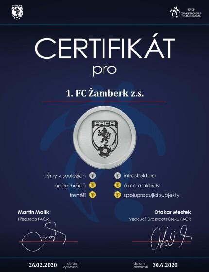 FACR Certifikat Zbk